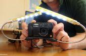 Crear una Macro iluminación plataforma para compactas cámaras