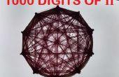 Gráfico - Visual Art de 1000 dígitos de PI