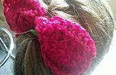 Cómo Crochet un arco del pelo