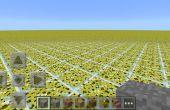 Cómo hacer flatland personalizado mapas en minecraft pe 0.9.5 y a continuación en android