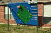 Escalada de patio trasero y pared de entrenamiento