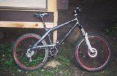 Bicicleta de montaña de fibra de carbono caseros