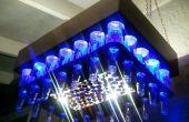 Aluminio cobre color cerveza botella LED luz lámpara (con casquillo protector de pantalla)