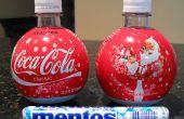 Mentos + Cola botella del aerosol.