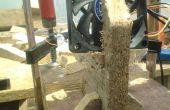 Soporte ventilador simple de madera