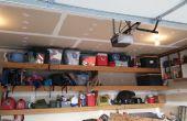 Garaje estantes flotantes