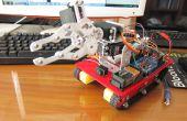 Mi octavo proyecto: Brazo Robot con el chasis del tanque inteligente y Bluetooth