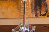 Termómetro de tubo Nixie bargraph analógico en 13