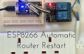 ESP8266 Reinicio del Router automático