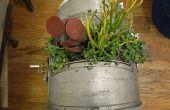 ¿Hacer una jardinera al azar ciencia basura