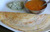 Especial Masala Dosa - estilo indio de sur