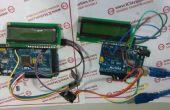 NRF2L401 inalámbrico sistema de transmisión de datos de PC con Arduino