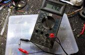 Probador de diodos Zener de bajo costo