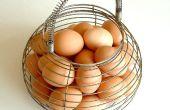 Para pelar rápidamente un perfecto duro huevo