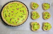 Verde huevos y Quiche de jamón y Tartaleta de