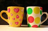 Decoupage tazas