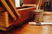 Caja de herramienta de madera Concertina