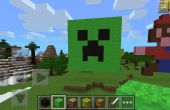 Enredadera cara Minecraft Pixel Art