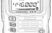 Creación de una radio de jamón VX-6 para el principiante