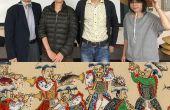 Crear artefactos de peces para el desfile en el Festival Kanda con artesanía y 3D