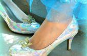 BRICOLAJE de zapatillas de cristal