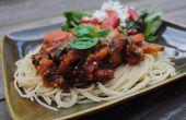 Salsa de espaguetis de Quinoa deliciosa
