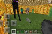 Lucha contra Mobs de Minecraft P.E!!!!!!