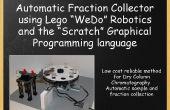 """Colector de fracciones para cromatografía (Lego Wedo y """"Rascar"""")"""