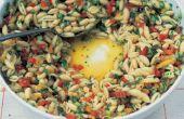 La mejor receta de ensalada de pasta con pasta sin cáscara pequeña