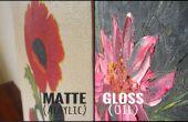Cómo saber la diferencia entre un aceite y una pintura acrílica