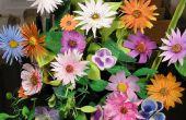 Hacer Ramos de flores de papel