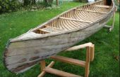 Canoa de cedro tira