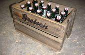 Cajón de cerveza madera