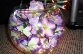 ¿Florales lámpara