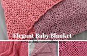 Elegante manta - Tutorial de Crochet gratis