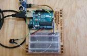 Sensor de proximidad con sonido