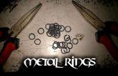 Cómo hacer anillos de metal