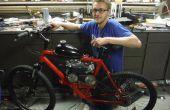 79cc motorizada bicicleta desde cero