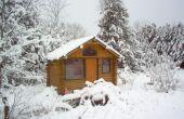 Cómo hacer una cabaña de madera