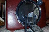 Convertir una maleta Samsonite en un tambor