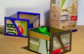 Cajas de la vaca - reciclar la leche-cartonway