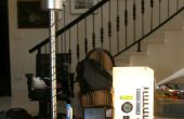 Cabecera doble lámpara de sobremesa para iPod
