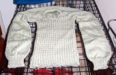 Cómo reciclar un suéter viejo (o un fallido) en hilo utilizable