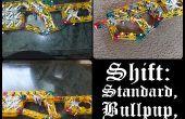 Cambio: Perno estándar Bullpup y tirachinas.