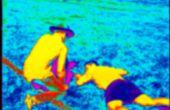 Que falso Video de la proyección de imagen termal