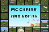 Sillas y sofás de Minecraft