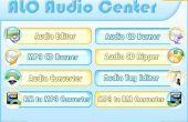 ¿Cómo convertir WAV, MP3, MP2, MP1, MPEG, MP4 a OGG, AVI, MPC, MOV, QT, WMA con ALO Audio Center?