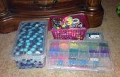 Cómo organizar mis cosas de telar del arco iris
