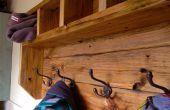Granja Perchero de madera de la plataforma