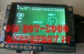 Pip-Boy 3000 con frambuesa